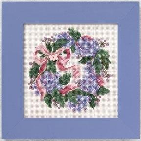 Набір для вишивки Mill Hill Hydrangea Wreath (2010)