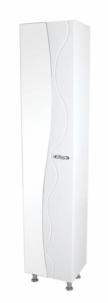 Напольный пенал Аква Родос Соло 40 белый, 400х330х1950 мм