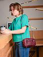 Сумка жіноча шкіряна на плече, фото 9
