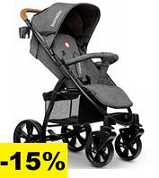 Детская прогулочная коляска Lionelo ANNET STONE CARAMEL Коляски для новорожденных Легкие прогулочные коляски