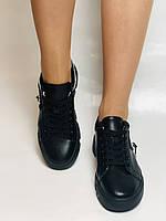 Farinni.Стильні жіночі кеди-білі кросівки.Натуральна шкіра. Висока якість 38 Vellena, фото 3