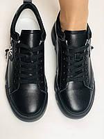 Farinni.Стильні жіночі кеди-білі кросівки.Натуральна шкіра. Висока якість 38 Vellena, фото 9