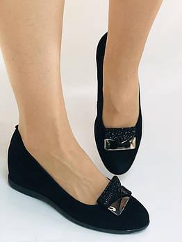 StaloTotti. Женские модельные туфли-лодочки на шарокую ногу. Натуральная замша. Размер 35.36.37.38.39.40