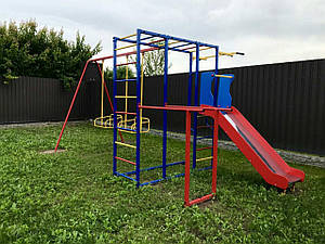 Комплекс спортивно-ігровий дитячий Dali № 811-2 спортмайданчик металева для вулиці