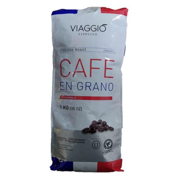 Кава в зернах Viaggio French Roast, 1 кг