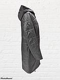 Жіноча демісезонна куртка-плащ великих розмірів Solo SK-31, фото 3