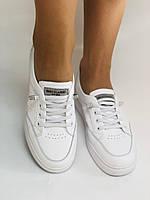 Nadi Bella. Женские кеды-кроссовки белые. Натуральная кожа. Размер 36.37.39.  Vellena, фото 4