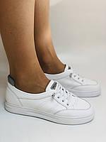 Nadi Bella. Женские кеды-кроссовки белые. Натуральная кожа. Размер 36.37.39.  Vellena, фото 5