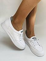 Nadi Bella. Женские кеды-кроссовки белые. Натуральная кожа. Размер 36.37.39.  Vellena, фото 2