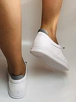 Nadi Bella. Женские кеды-кроссовки белые. Натуральная кожа. Размер 36.37.39.  Vellena, фото 10