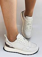 Farinni. Натуральная кожа. Женские белые кеды-кроссовки. Размер 37.38.39., фото 2