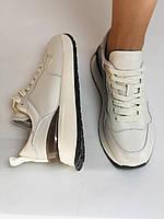 Farinni. Натуральная кожа. Женские белые кеды-кроссовки. Размер 37.38.39., фото 9