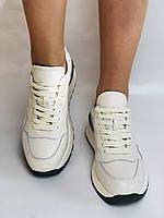 Farinni. Натуральная кожа. Женские белые кеды-кроссовки. Размер 37.38.39., фото 8