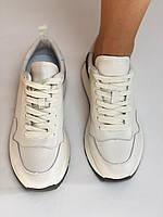 Farinni. Натуральная кожа. Женские белые кеды-кроссовки. Размер 37.38.39., фото 7