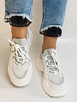 Стильні жіночі кеди-білі кросівки.Натуральна шкіра. Висока якість 38-40 Vellena, фото 5