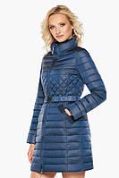 Женская комфортная куртка Braggart осенне-весенняя цвет темная лазурь модель 39002