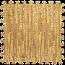Підлога пазл - модульне підлогове покриття 600x600x10мм золоте дерево