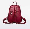 Рюкзак женский кожаный Hefan Daishu Young, фото 4