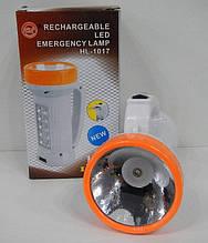 Фонарь ручной переносной HL-1017 1+10LED, туристический фонарь, HL-1017 1+10LED