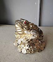 Статуэтка Денежная Жаба большая, размер 16 * 16 см, фото 1