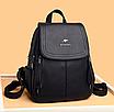 Рюкзак женский кожаный Hefan Daushi Style, фото 3