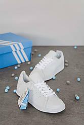 Женские кроссовки Adidas Stan Smith White, Адидас Стен Смит