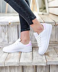 Женские кроссовки Adidas Stan Smith Adidas Pink, Адидас Стен Смит