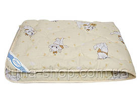 Одеяло 140х105 детское тёплое в садик/в кроватку, шерсть, бязь
