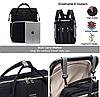 Рюкзак-кроватка для мам Baby Travel Bed-Bag Водонепроницаемая сумка рюкзак для мамы с ковриком для пеленания, фото 5