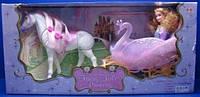 Карета 54586 с куклой и лошадью