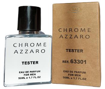 Духи мужские Azzaro Chrome (Азаро Хром) Тестер 50ml (копия)