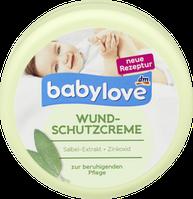 Детский крем Babylove Wundschutzcreme ( Для защиты кожи в области пеленания)