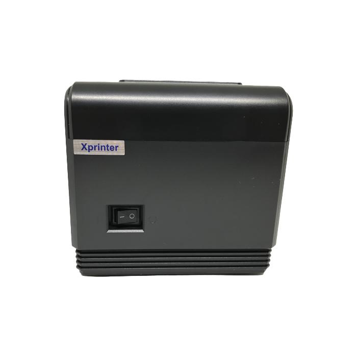 XPrinter XP-Q200 термопринтер, POS-принтер чековый, USB + LAN, 80 мм с автообрезкой бумаги, шт. (арт.777)