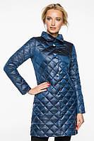 Куртка женская Braggart оригинальная осенне-весенняя цвет темная лазурь модель 20856