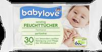 Влажные салфетки для чувствительной кожи Babylove Feuchttücher sensitive