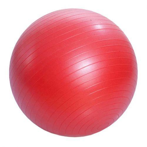 М'яч гумовий для фітнесу , 55 см (червоний) BT-SFB-0009