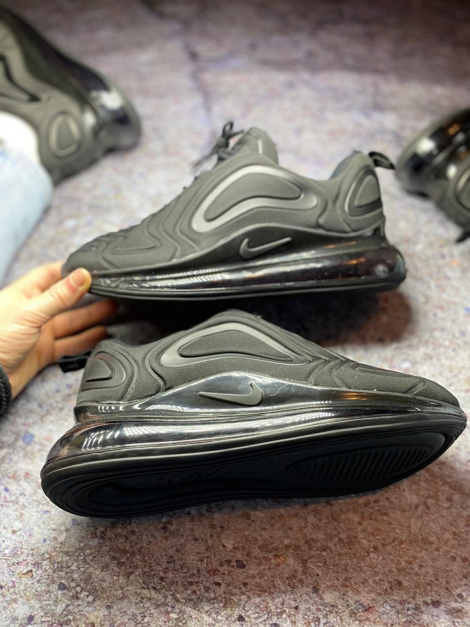 Жіночі кросівки Nike Air Max 720 Black, Найк Аір Макс 720