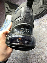 Жіночі кросівки Nike Air Max 720 Black, Найк Аір Макс 720, фото 2