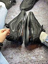 Жіночі кросівки Nike Air Max 720 Black, Найк Аір Макс 720, фото 3