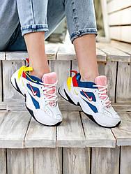 Женские кроссовки Nike M2K Tekno - Blue Force Multicolor, Найк М2К Техно