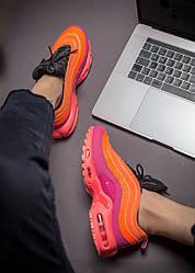 Женские кроссовки Nike Air Max Tn Plus/97 Racer Pink, Найк Аир Макс Тн Плюс 97