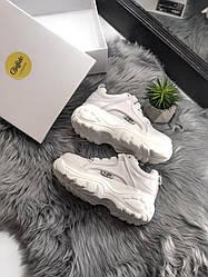 Женские кроссовки Buffalo London White, Буфало Лондон