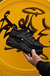 Женские кроссовки Buffalo London Black, Буфало Лондон