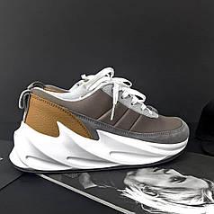 Кроссовки Adidas Shark Brown, Адидас Шарк