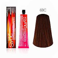 Фарба для волосся тон в тон Color Sync, 6BC, 90мл Matrix