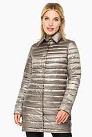 Кварцевая куртка Braggart осенне-весенняя женская модель 41323