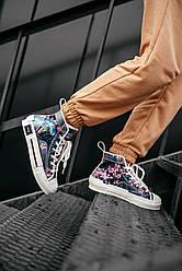 Кросівки Dior B23 High-Top Sorayama Oblique, Крістіан Діор