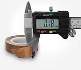 Тефлоновий скотч рулон 10м ширина 50мм товщина: 0.18 мм термостійкий для зварювача пакетів, фото 2