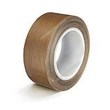 Тефлоновий скотч рулон 10м ширина 50мм товщина: 0.18 мм термостійкий для зварювача пакетів, фото 8