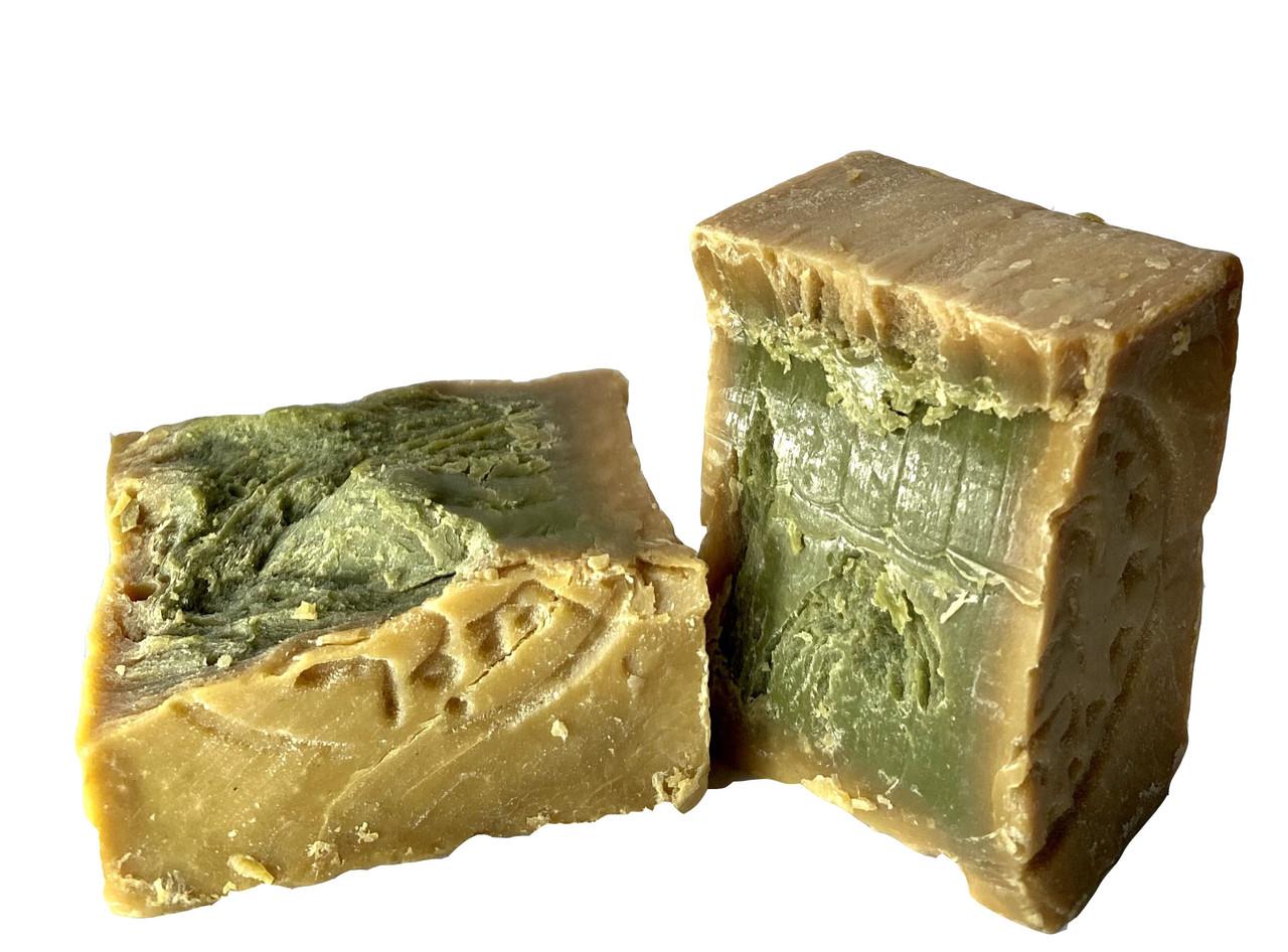 Мыло Алеппское лавровое с оливковым маслом 200 грамм